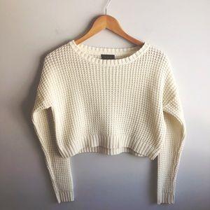 3/$18 U2B || Crop || Sweater